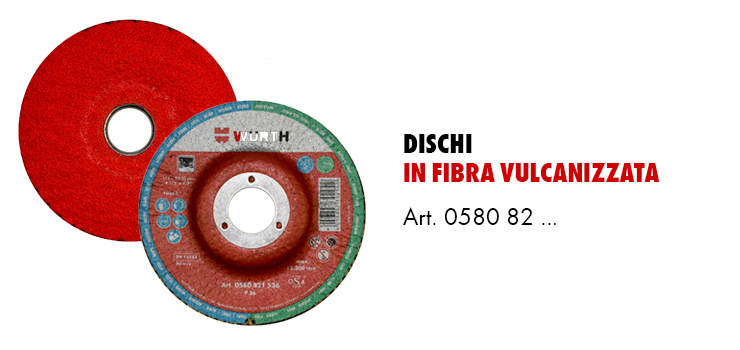dischi in fibra vulcanizzata