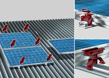 sistemi di staffaggio zebra solar