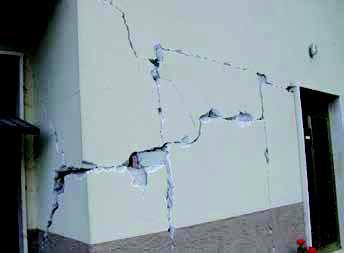 apertura su muratura senza ammorsamento