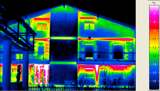 Ponti termici in corrispondenza dei balconi e dei cordoli dei solai