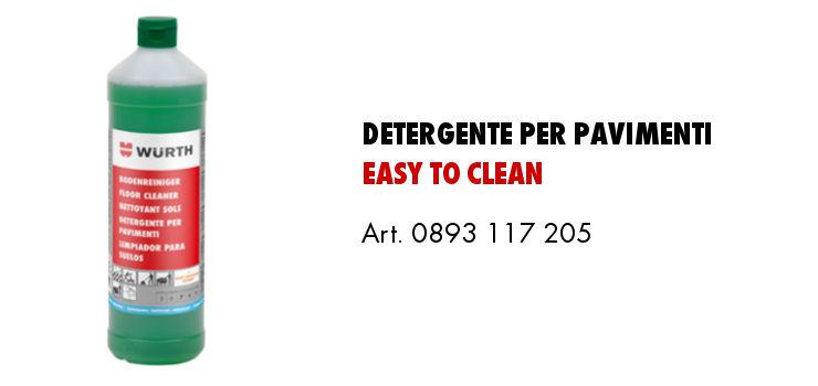 detergente per pavimenti easy to clean