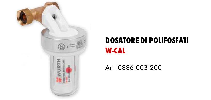 dosatore di polifosfati WCAL