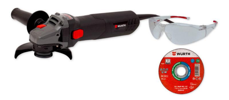 scegliere la smerigliatrice angolare kit