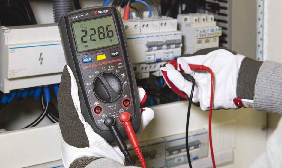 Multimetro digitale professionale: funzionamento semplice e misurazioni sempre accurate
