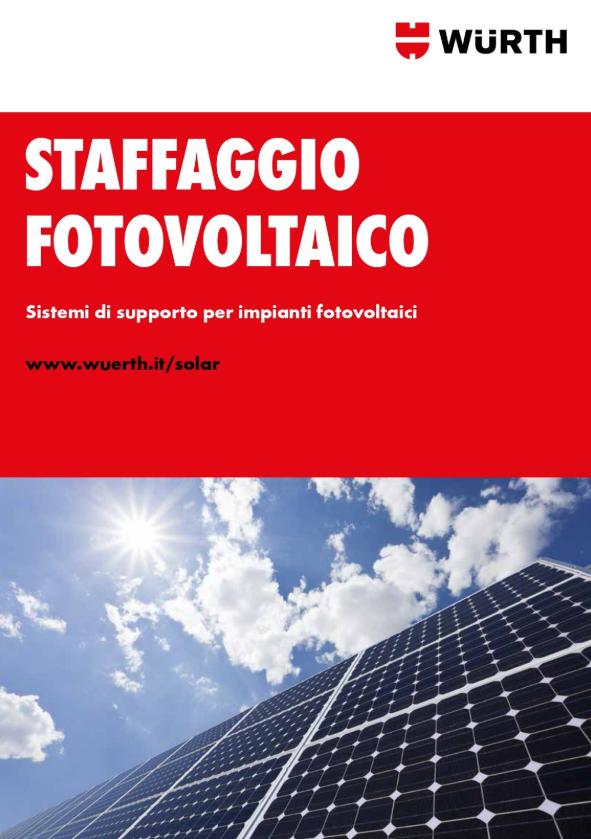 Staffaggio Fotovoltaico - Zebra Solar Würth