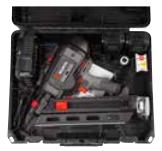 Chiodatrice a batteria - valigetta