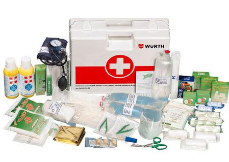 cassetta di pronto soccorso aziendale A1 Alto Adige
