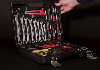 La valigia utensili completa worker: un piccolo kit per una grande fornitura!