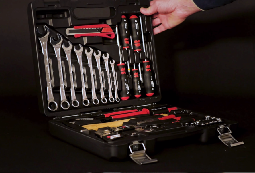 La valigia utensili completa: un piccolo kit per una grande fornitura!