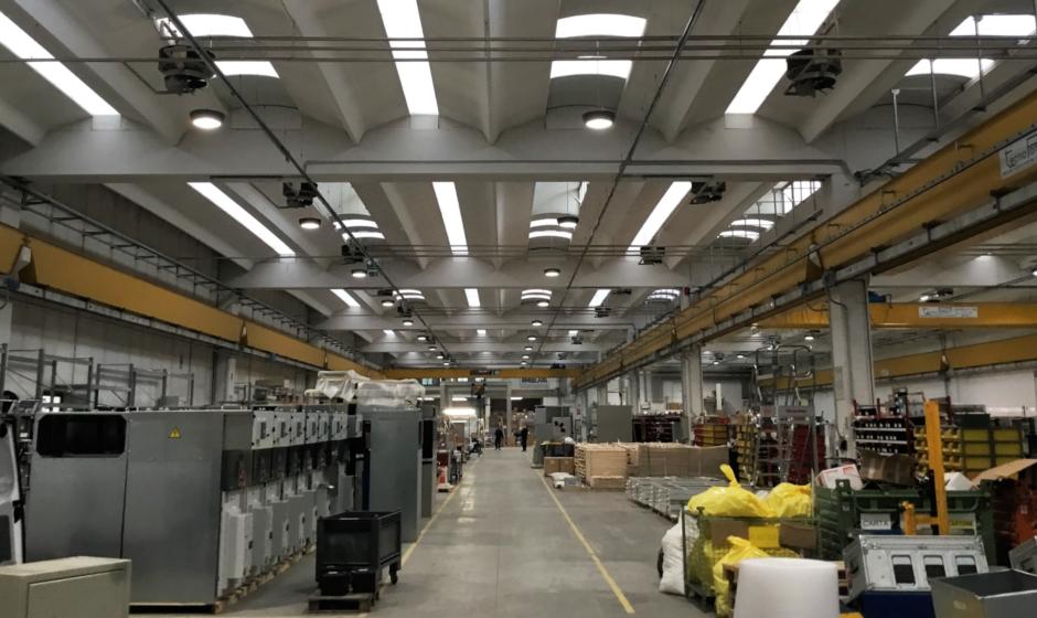 Illuminazione industriale a LED: consumi ridotti del 58% in IMESA