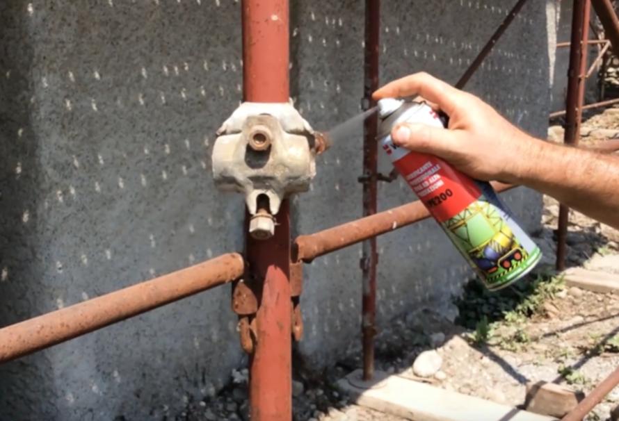 Spray Lubrificante LPE per l'edilizia: il miglior alleato dei professionisti!