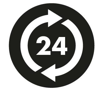 24 ore su 24