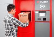 Arrivano i Würth Locker: ritira i tuoi ordini 24 ore su 24, 365 giorni all'anno!