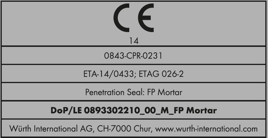 Marcatura CE dei prodotti da costruzione - esempio