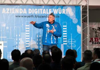 """Würth Customer Day 2019: la testimonianza di Andrea """"Lucky"""" Lucchetta sull'importanza del lavoro di squadra"""