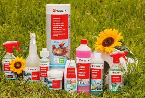 Prodotti ecologici per lavaggio auto: scopri la nostra gamma di pulitori Eco-Line!