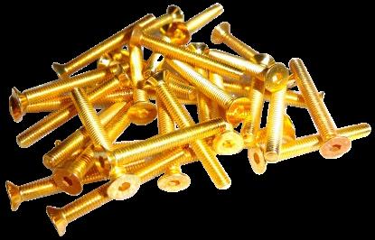 La Mecca delle viti placcate in oro Würth