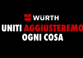 Uniti aggiusteremo ogni cosa: Würth Italia contro l'emergenza COVID-19