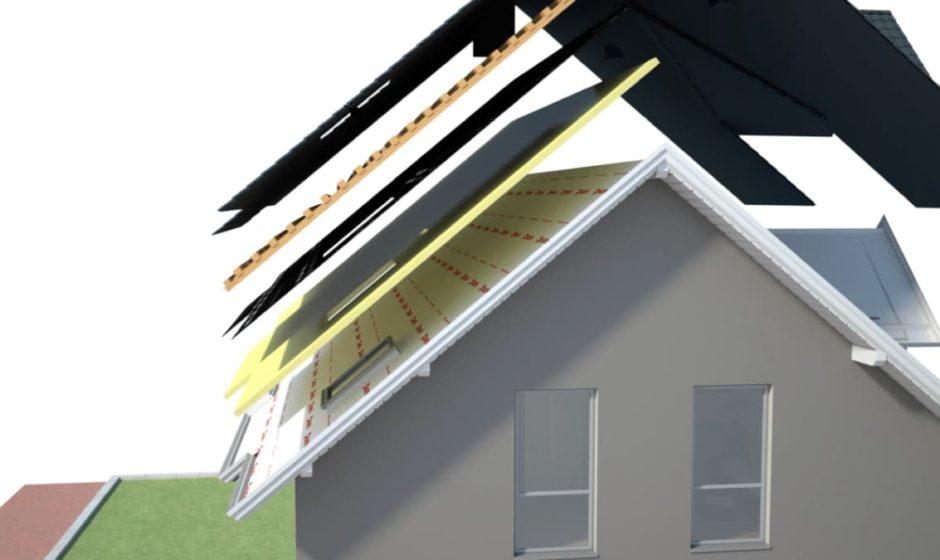 Isolamento del tetto: come evitare che l'umidità penetri nelle strutture edilizie con i freni al vapore WÜTOP