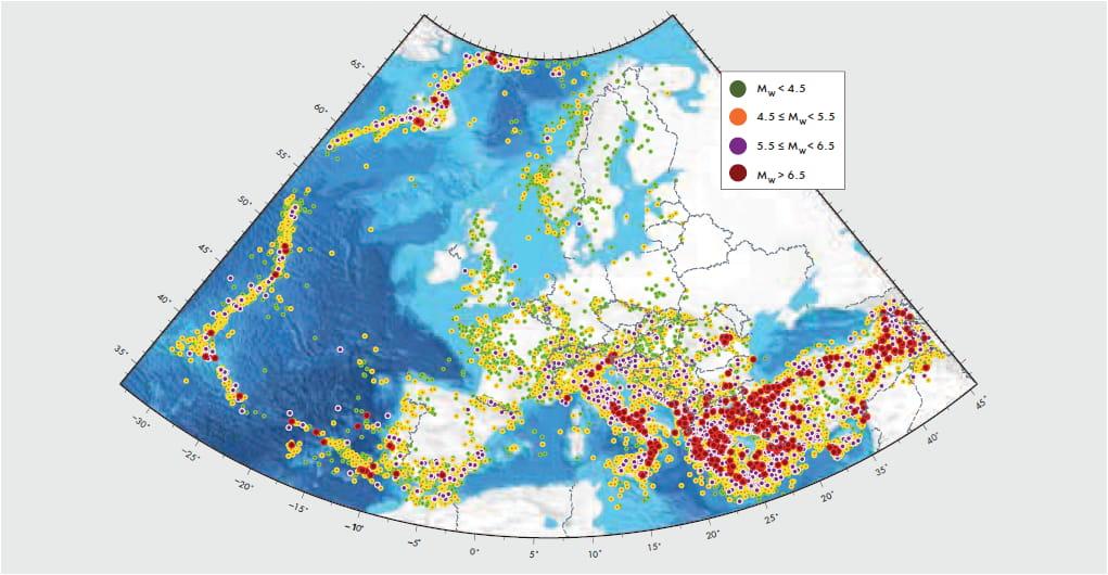 analisi dei terremoti