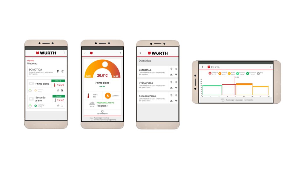 app wüdomo domotica