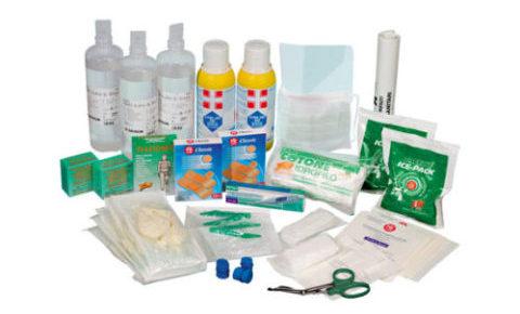 kit di ricambio cassetta di pronto soccorso aziendale A1 - base