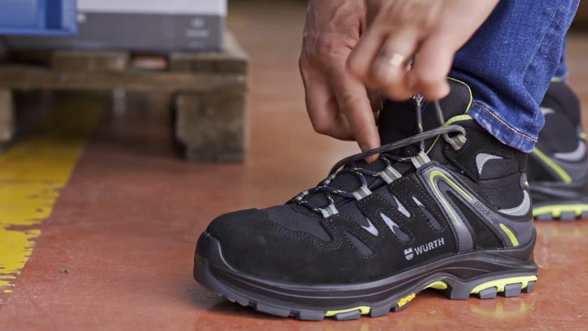 scegliere numero scarpe antinfortunistiche