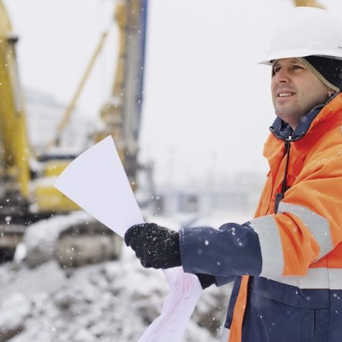Abbigliamento da lavoro invernale