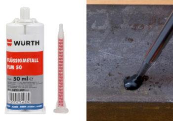Metallo liquido per riparazioni: ideale per incollare, riempire e livellare. Scopri tutte le applicazioni!