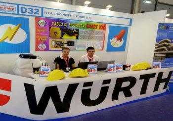 Anche grazie a Würth, nasce il Casco Smart IoT: il dispositivo che dà l'allarme in caso di incidente sul lavoro