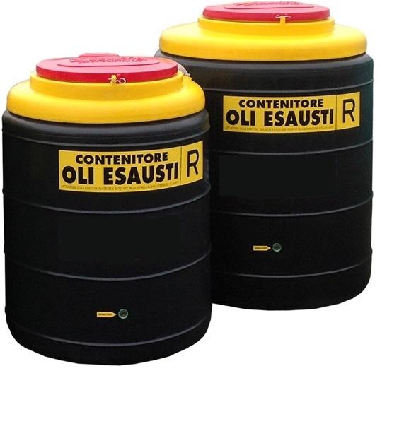 smaltimento olio motore