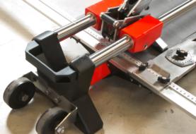 Tagliapiastrelle professionale per grandi formati W PLUS: tagli veloci, netti e precisi in una sola fase di lavoro