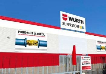 Würth Superstore Stezzano: un nuovo negozio dedicato interamente ai professionisti del mondo elettrico e termosanitario