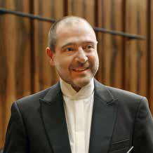 Claudio Vandelli direttore dell'orchestra filarmonica Würth