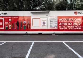 Würth lancia l'Automatic Store: il primo negozio automatizzato in Italia per acquistare o ritirare gli ordini h24