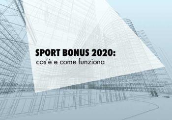 Sport Bonus 2020: caratteristiche e possibilità di accesso al beneficio