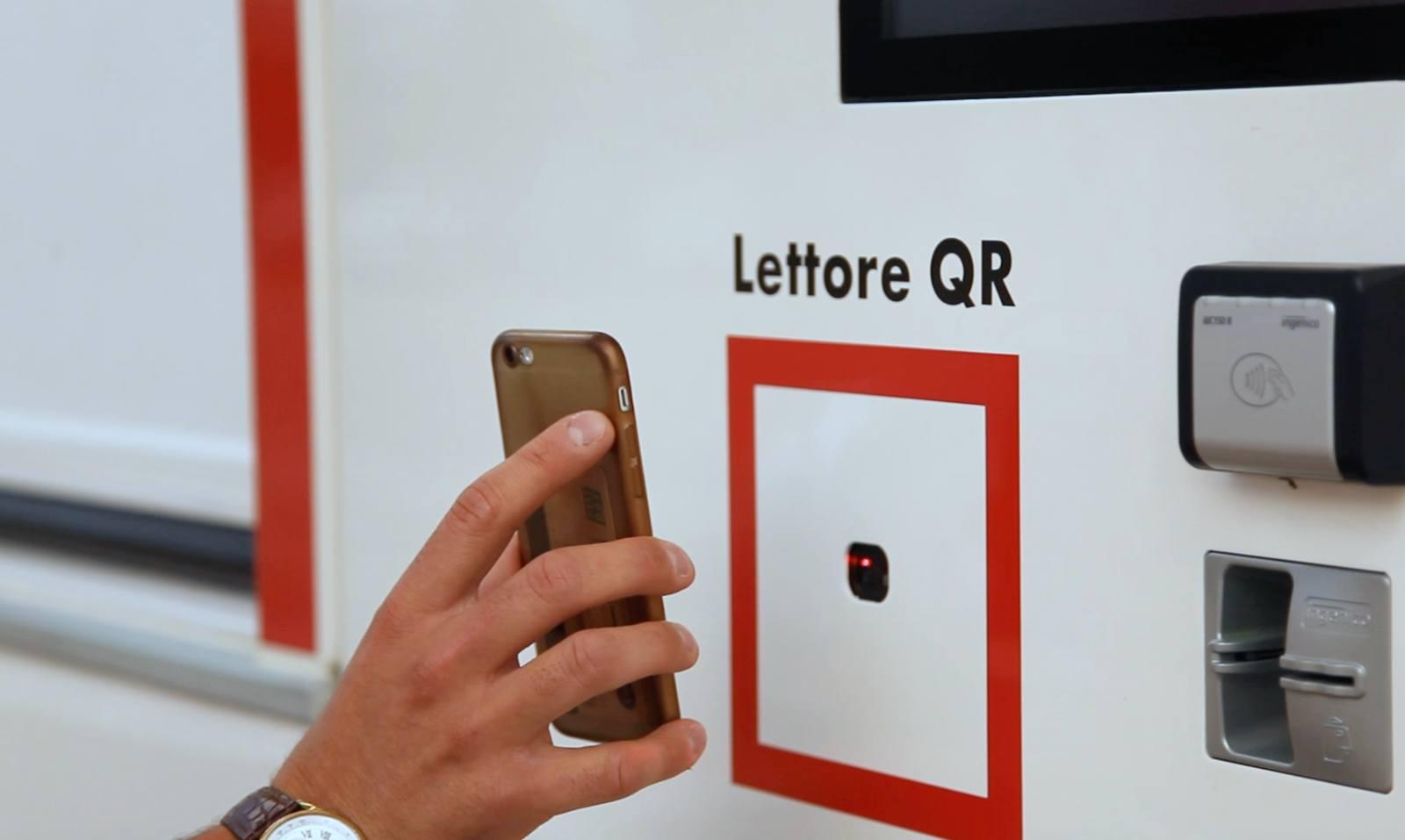 Pagamento e lettura QR Code