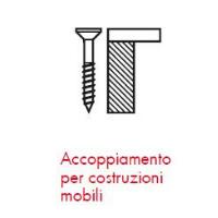 Pittogrammi ASSY 4 - Applicazioni nella falegnameria ACCOPPIAMENTO MOBILI