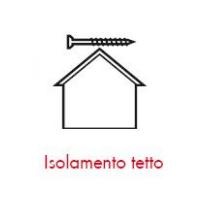 Pittogrammi ASSY 4 - Applicazioni nelle costruzioni ISOLAMENTO TETTO
