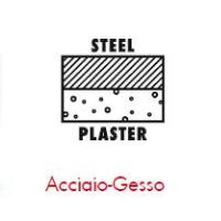 Pittogrammi ASSY 4 - Giunzione di materiali - acciaio-gesso