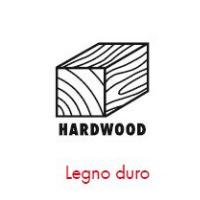 Pittogrammi ASSY 4 - Tipologia di legno - legno duro
