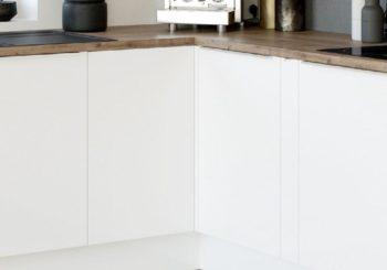 Organizzazione cucina su misura: ferramenta e componenti per mobili ad angolo