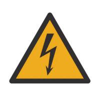 Cartello tensione elettrica pericolosa - 0899605467