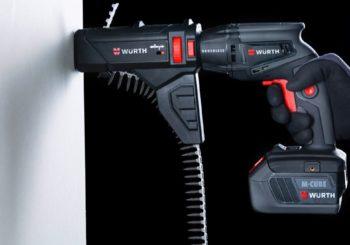 Leggero, compatto, automatico: nuovo avvitatore per cartongesso con caricatore e batteria M-CUBE