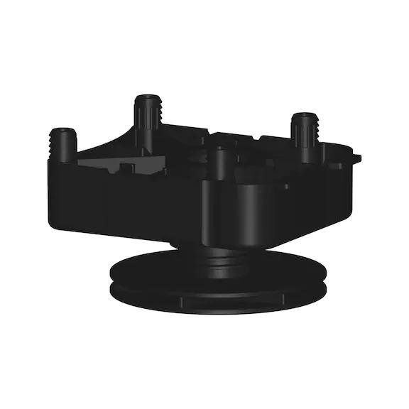 Base height adjuster type EV-D 0683370306