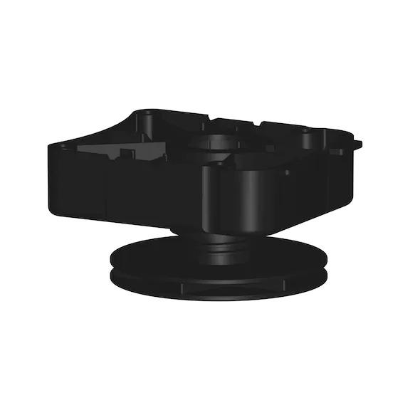 Base height adjuster type EV-S 0683370295