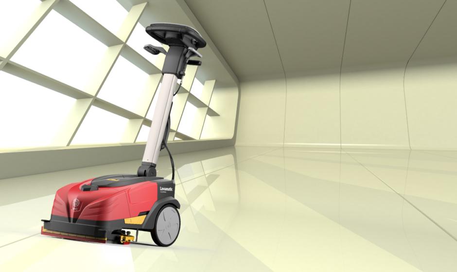 Lavapavimenti professionale per officine e aziende: lava e asciuga pavimenti industriali