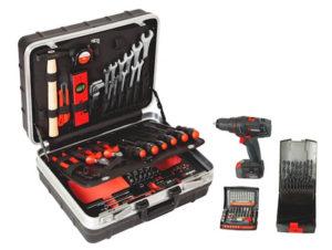 valigia attrezzi assistenza tecnica 108 pezzi - 096593144
