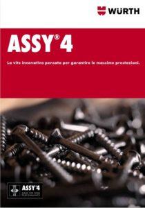 Catalogo ASSY 4 - la vite innovativa pensata per grantire massime prestazioni