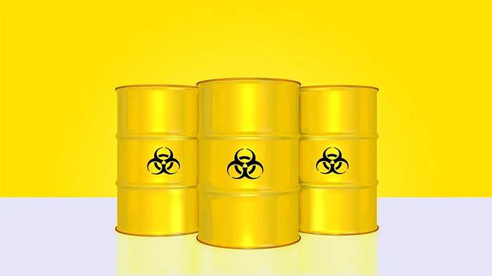 rifiuti officina - cisterne